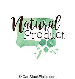 promo, fresco, natural, produtos, sinal