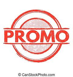 Promo grunge stamp