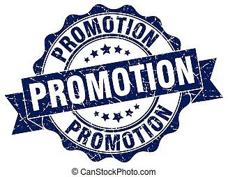 promoción, stamp., signo., sello