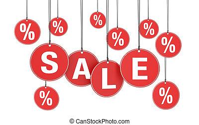 promotion, concept, achats, vente