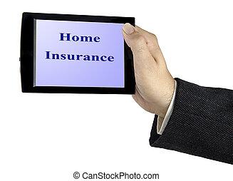 promotion, de, assurance maison