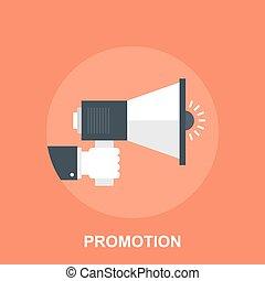 Promotion - Vector illustration of promotion flat design...