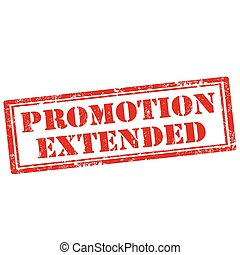 Promotion Extended-stamp - Grunge rubber stamp with text...