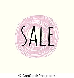 Promotion grunge badge with Sale sign isolated on white background.
