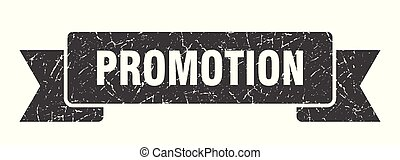 promotion grunge ribbon. promotion sign. promotion banner