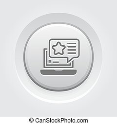 Promotion Icon. Flat Design.