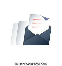 Promotion message, outbound email marketing, news letter ...