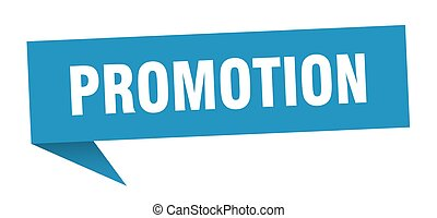promotion speech bubble. promotion sign. promotion banner