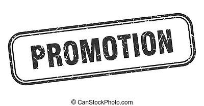 promotion stamp. promotion square grunge sign. promotion