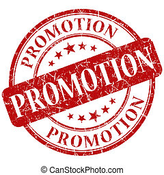 promotion, timbre
