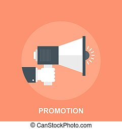 Promotion - Vector illustration of promotion flat design...