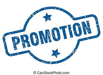 promotion vintage stamp. promotion sign