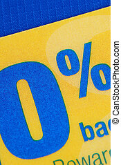 Promotional 0% APR offer