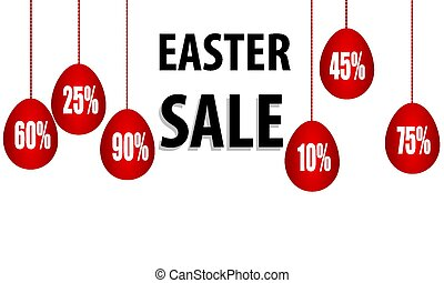 Promotional discounts on Easter eggs