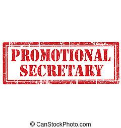 Promotional Secretary-stamp