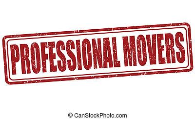 promotori, professionale, francobollo