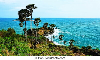 Promthep Cape. Phuket island, Thailand.
