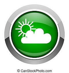 pronóstico meteorológico, icono