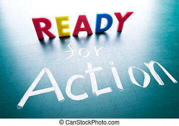 pronto, azione