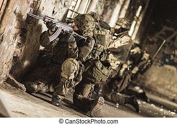 pronto, loro, servire, paese