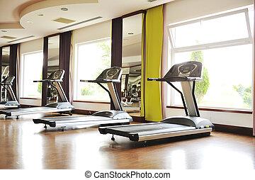 pronto, para, fitness?