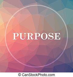 propósito, ícone