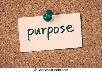 propósito