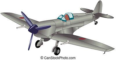 Prop Plane - Propeller Plane Illustration