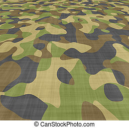 propageren, camouflage