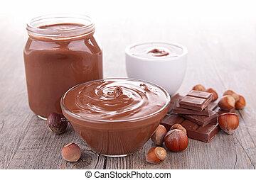propageren, chocolade
