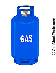 Propane gas cylinder. - Propane gas cylinder - vector...
