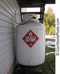 propane tank - LIQUIDAFIED PROPANE GAS TANK
