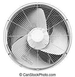propeller - impeller of air-conditioner