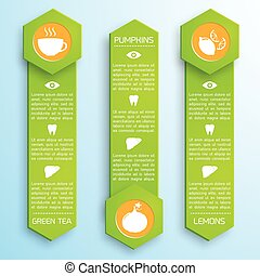 Proper Nutrition Infographic Template