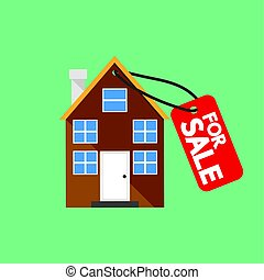 Property For Sale Vector Illustration