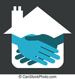 Property handshake design.