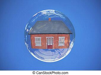 Property house bubble