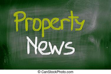 Property News Concept