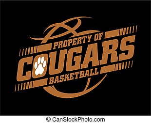 cougars basketball - property of cougars basketball team...