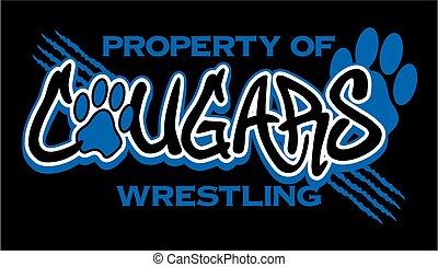 cougars wrestling - property of cougars wrestling team...