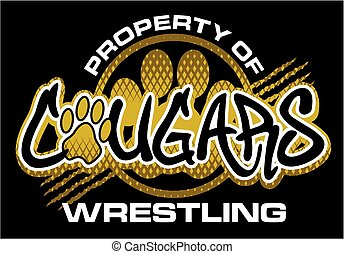 cougars wrestling - property of cougars wrestling team...