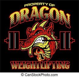 dragon weightlifting - property of dragon weightlifting team...