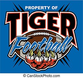 property of tiger football