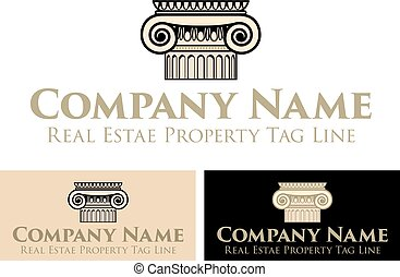 Property Real Estate Logo, Business Template