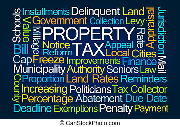 Property Tax Word Cloud