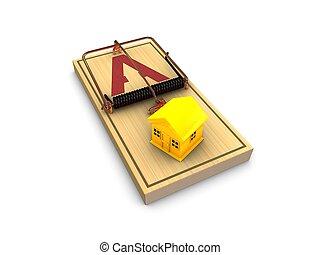 Property trap