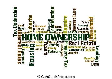 propiedad de una vivienda