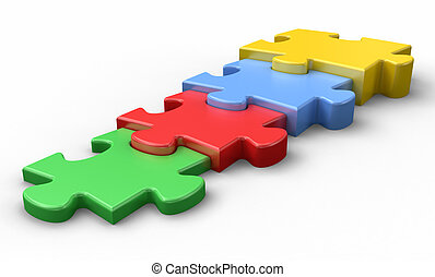 propiedad, digitalmente, tridimensional, gráfico, aislado, ...