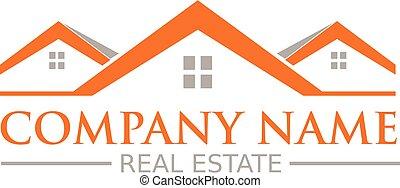 propiedad, logotipo, verdadero
