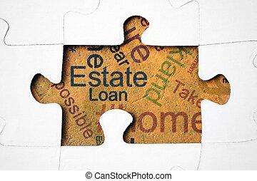 propiedad, y, préstamo, concepto